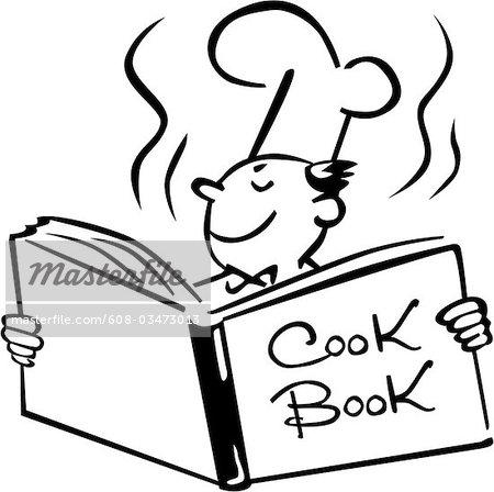 clip art for a cookbook.