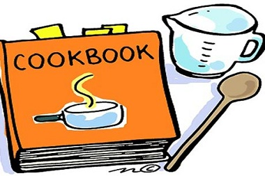 Recipe Book Clipart.