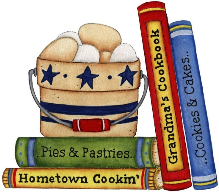 Kitchen Cook Books Cookbook Clipart Pinterest.