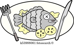 Cooked fish clipart 5 » Clipart Portal.