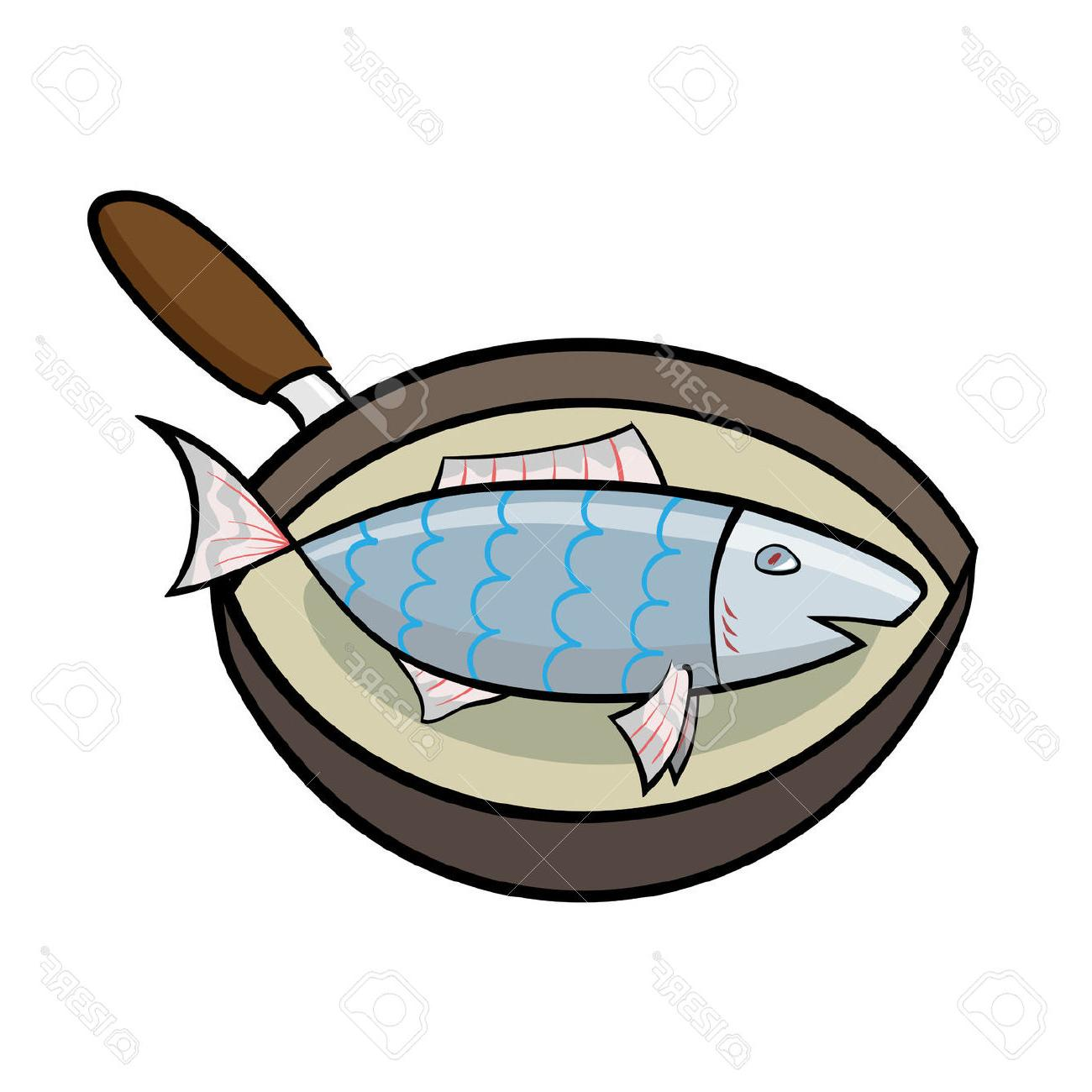 Fried Fish Clipart.