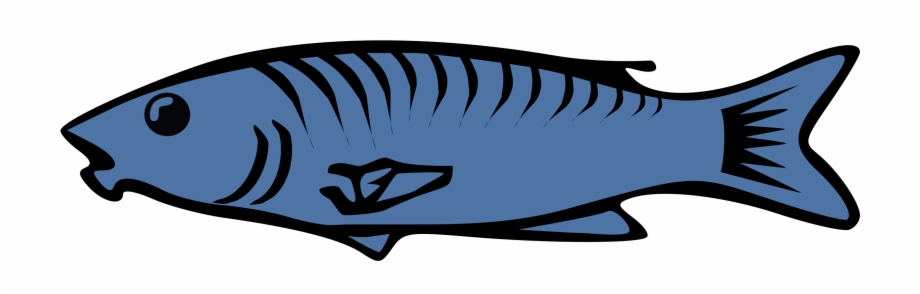 Cooked Fish Clipart Image.