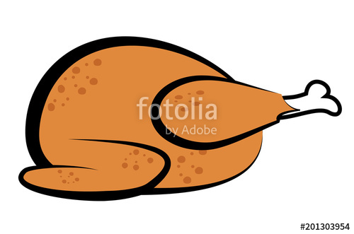Cooked Thanksgiving Turkey Clipart