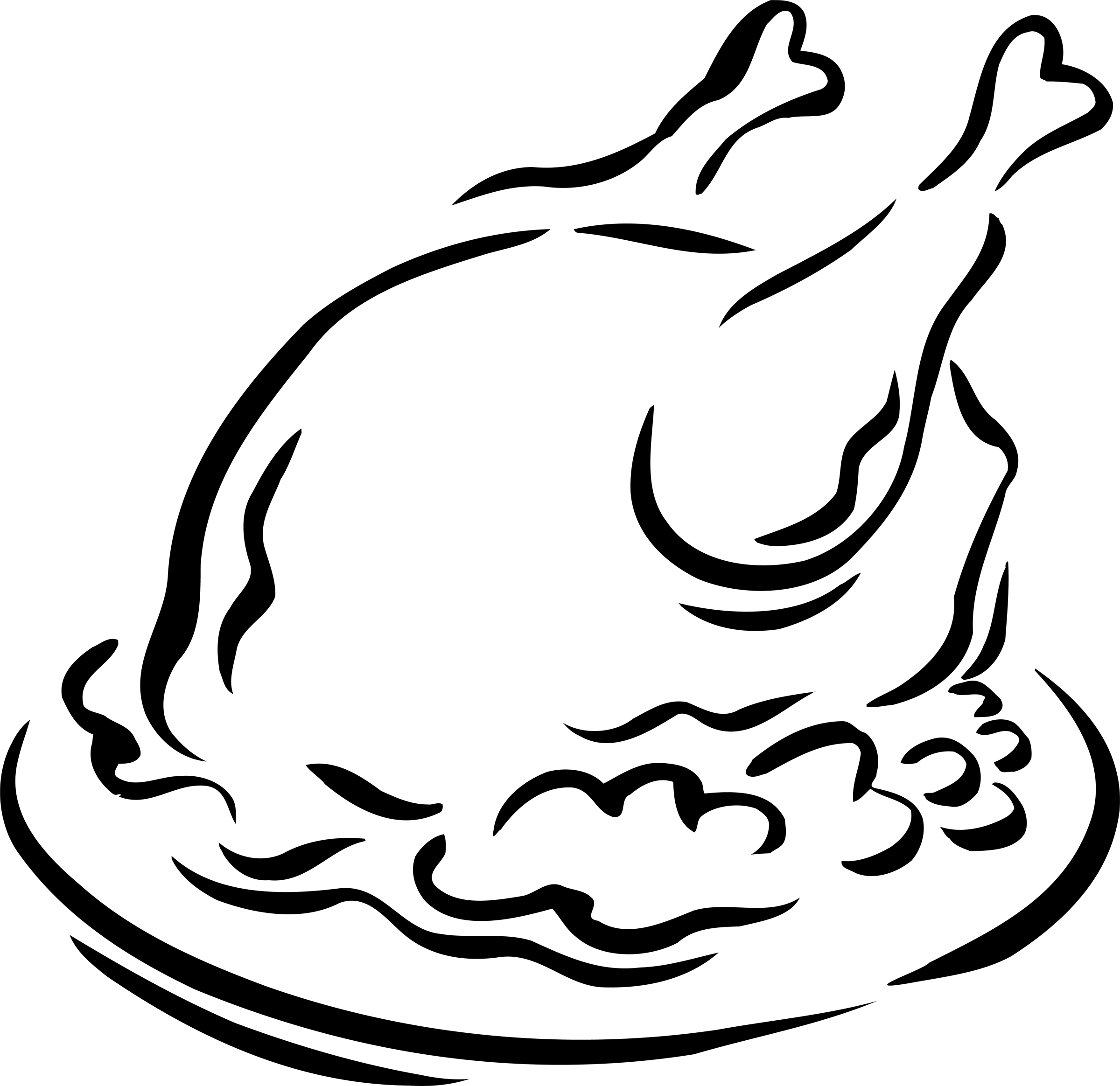 Free Cooked Turkey Clipart Black And White, Download Free.