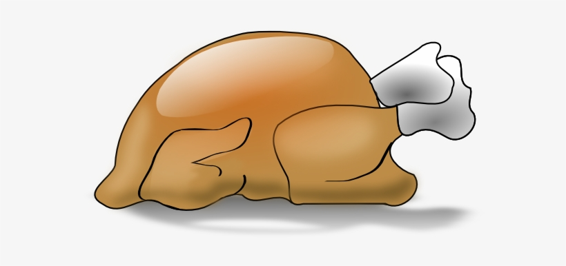 Cooked Turkey Clipart.