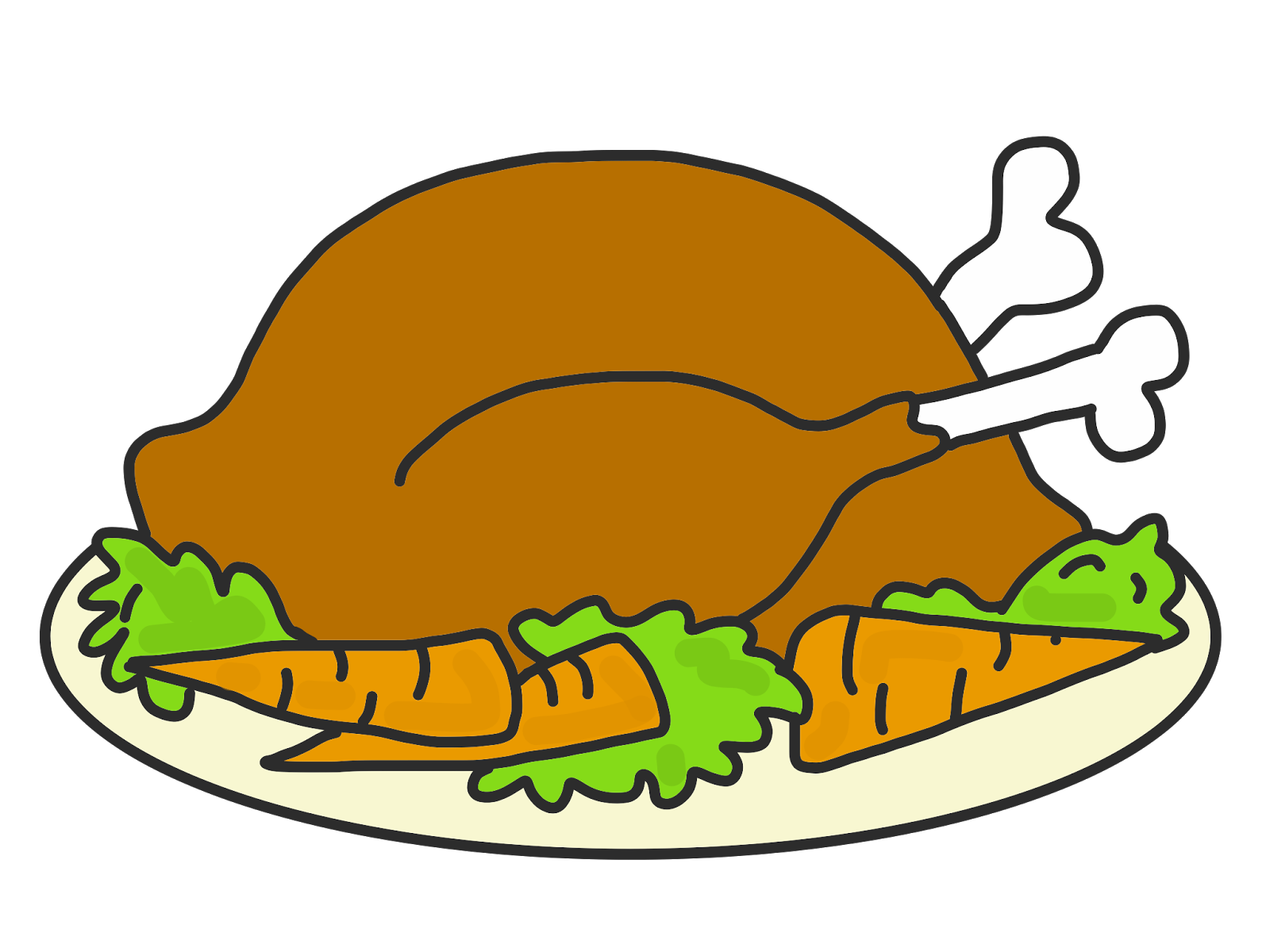 Cooked Turkey Png.