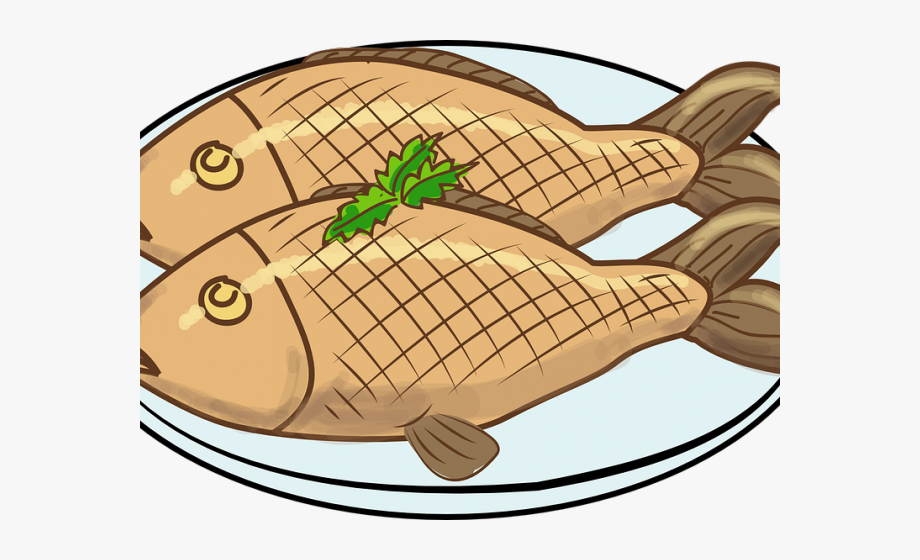 Meat Clipart Long Fish.