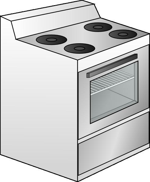 Cooker Cartoon Clipart.