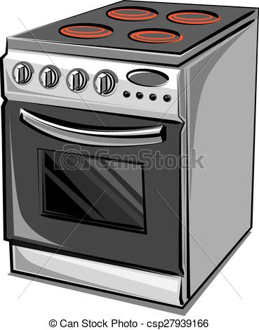 Electric cooker clipart.