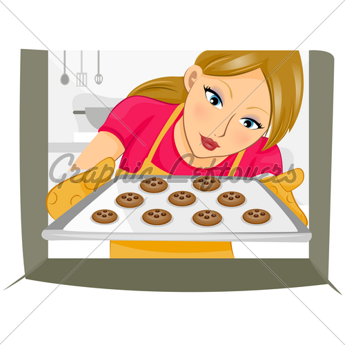 Baking Cookies · GL Stock Images.