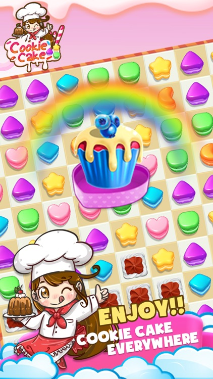 Cookie Cake Match by Mobile World Limited.