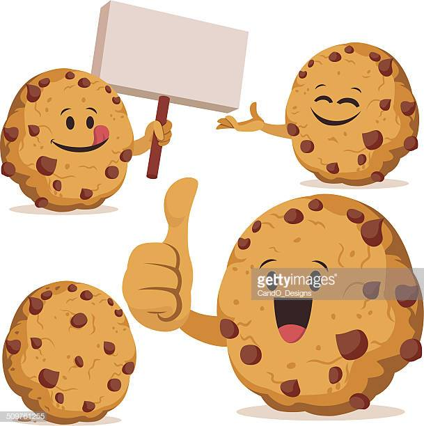 60 Top Chocolate Chip Cookie Stock Illustrations, Clip art, Cartoons.