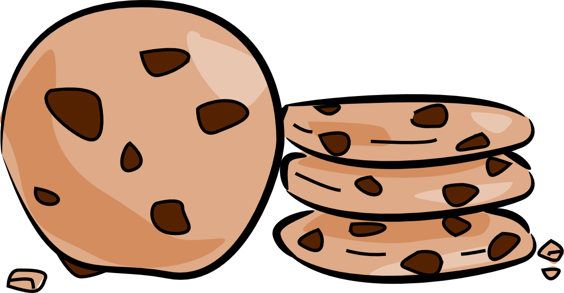 Chocolate chip cookie Cookie cake Clip art.