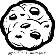 Chocolate Chip Cookies Clip Art.