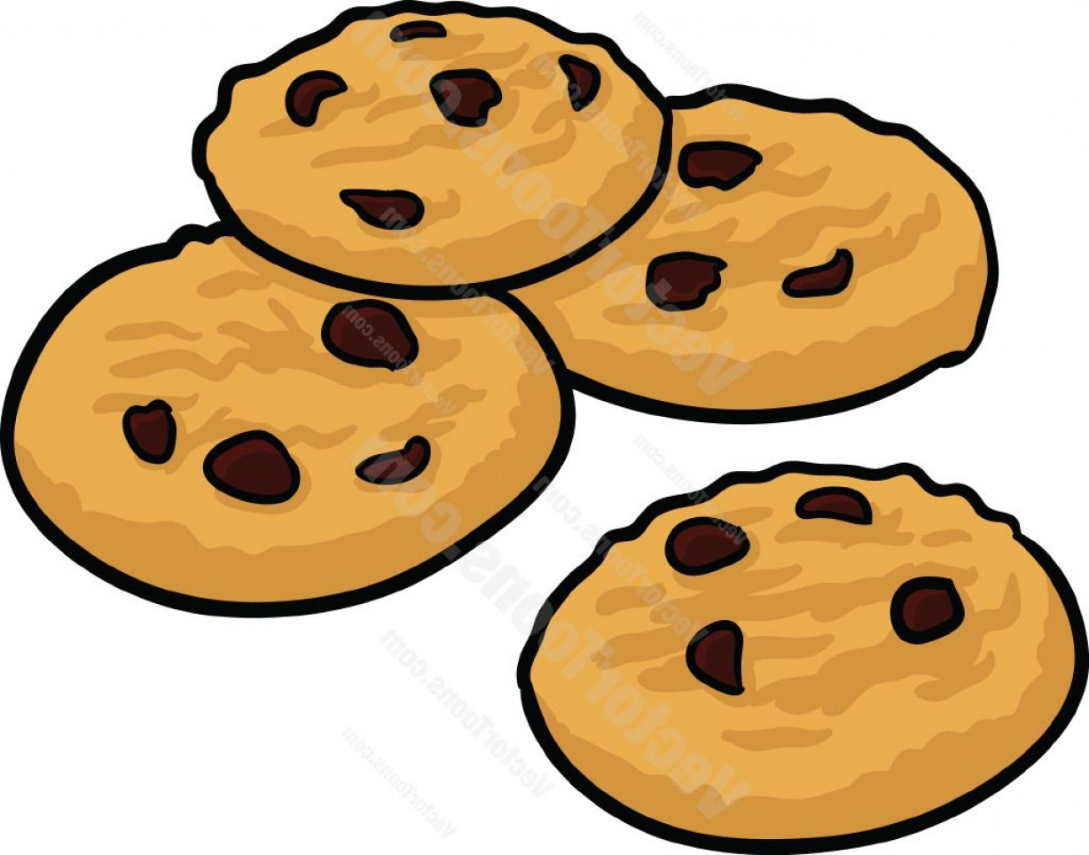 Collection of Chip cookie clipart.
