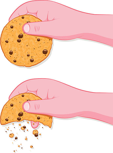 Best Cookie Crumbs Illustrations, Royalty.
