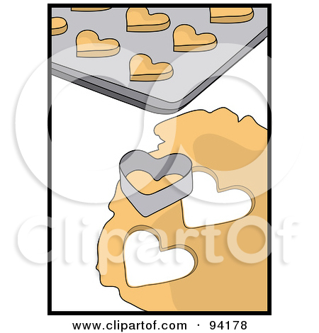 Heart Cookie Cutter Clip Art.