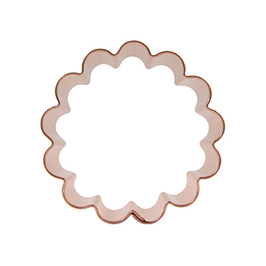 Round Cookie Cutters Clip Art.