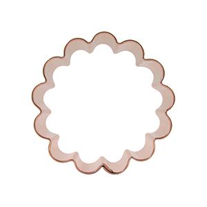 Round Cookie Cutters Clip Art.