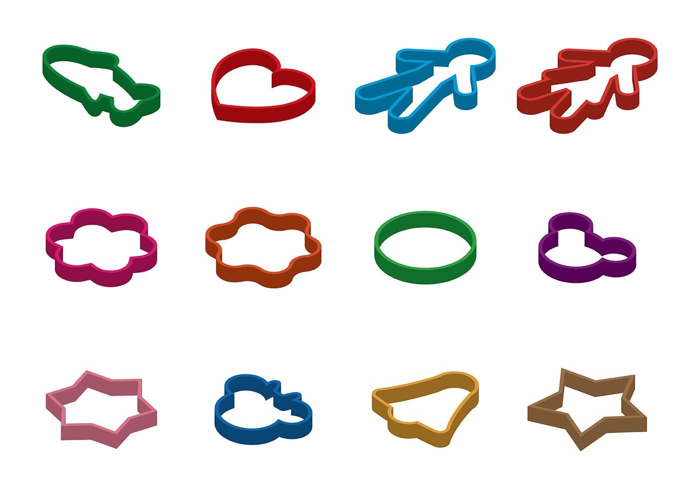 Cookie Cutter Clip Art.