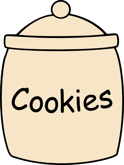 Storage jar clipart #13