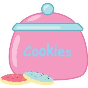 Cookie jar clipart.