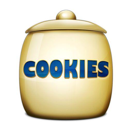 Cartoon Cookie Jar Clipart.