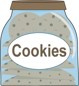 Cookie jar clip art.