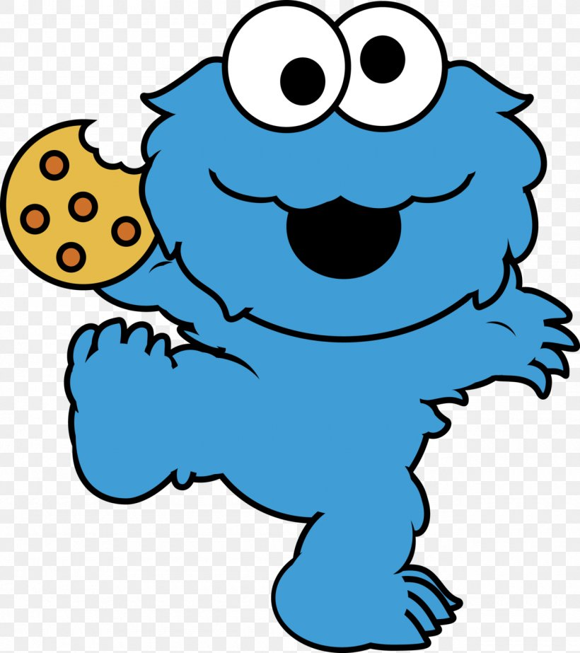 Happy Birthday, Cookie Monster Elmo Biscuits Clip Art, PNG.