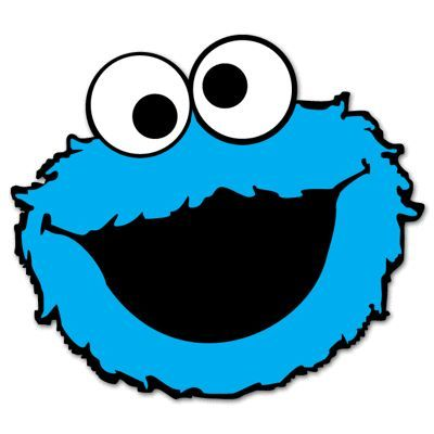 Cookie Monster Face Clipart in 2019.