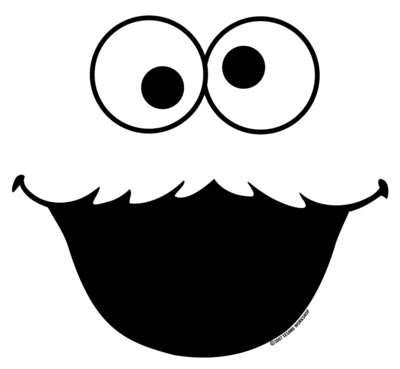 7 Best Images of Sesame Street Face Templates Printable.