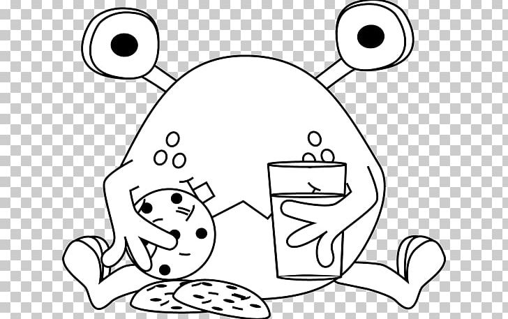 Cookie Monster Black And White Cookie Chocolate Chip Cookie PNG.