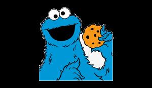 Cookie Monster Sesame Street Face Juniors Shirt Transparent Png.