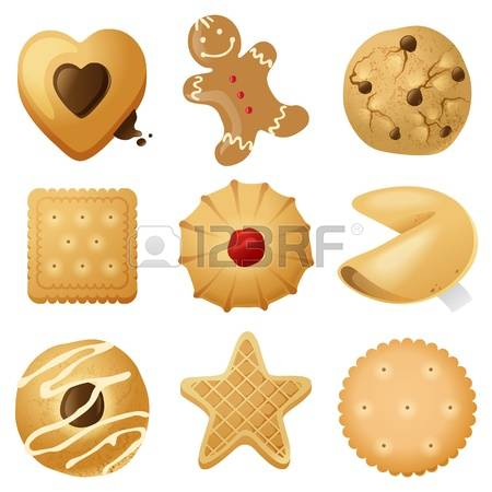 8,201 Cookie Shapes Stock Vector Illustration And Royalty Free.