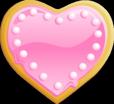 Valentine Cookie Clipart.
