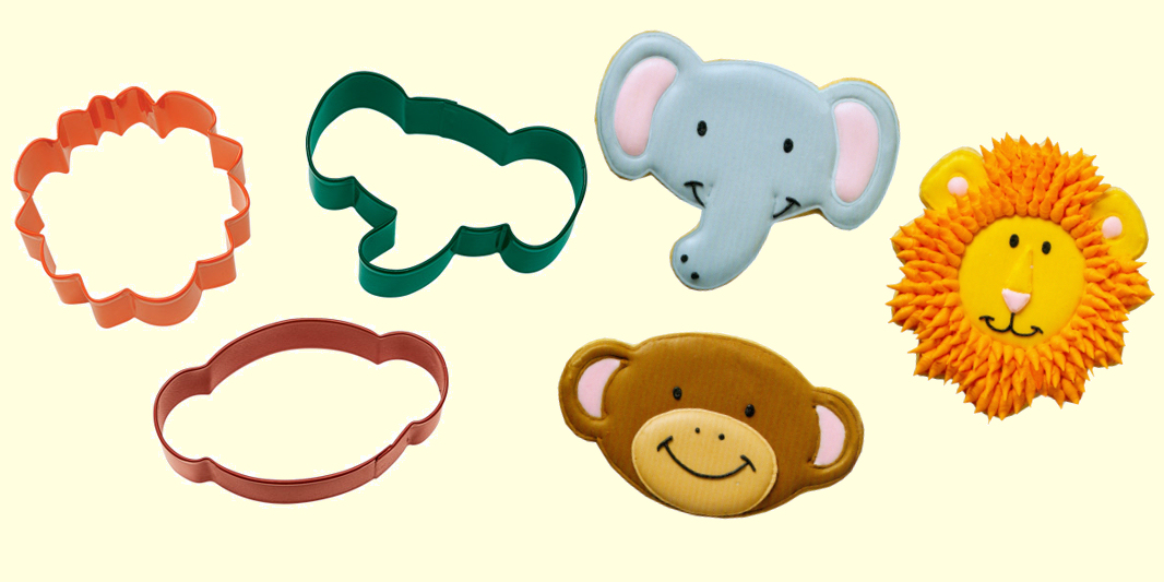 Wilton 3 Piece Cookie Cutters Sets.
