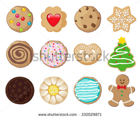 Cookies Stock Images, Royalty.