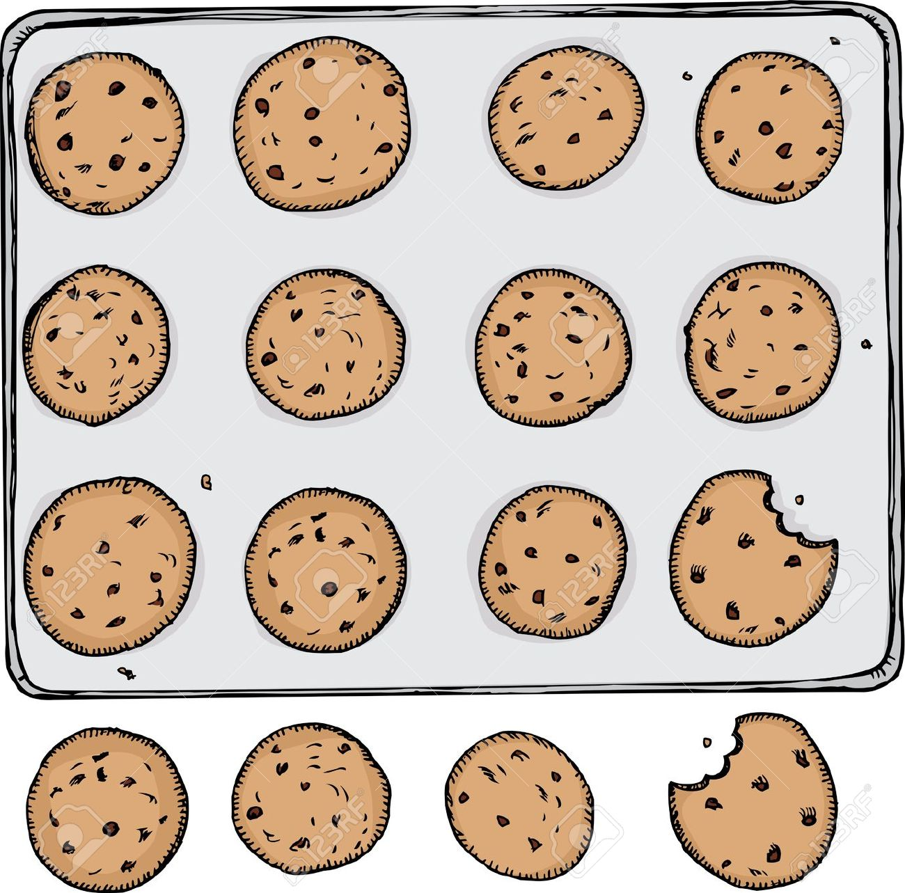 Showing post & media for Cartoon cookie tray.