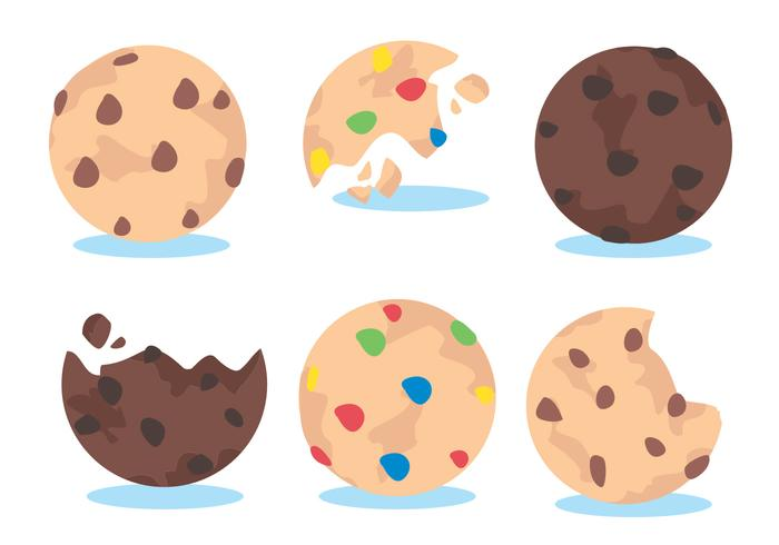 Cookie Vector Set.