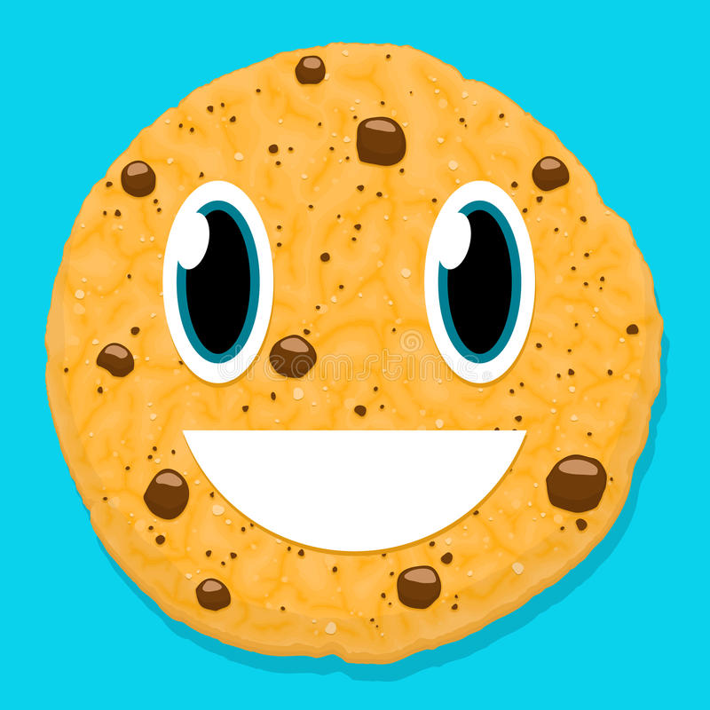 Cookie Face Stock Illustrations.