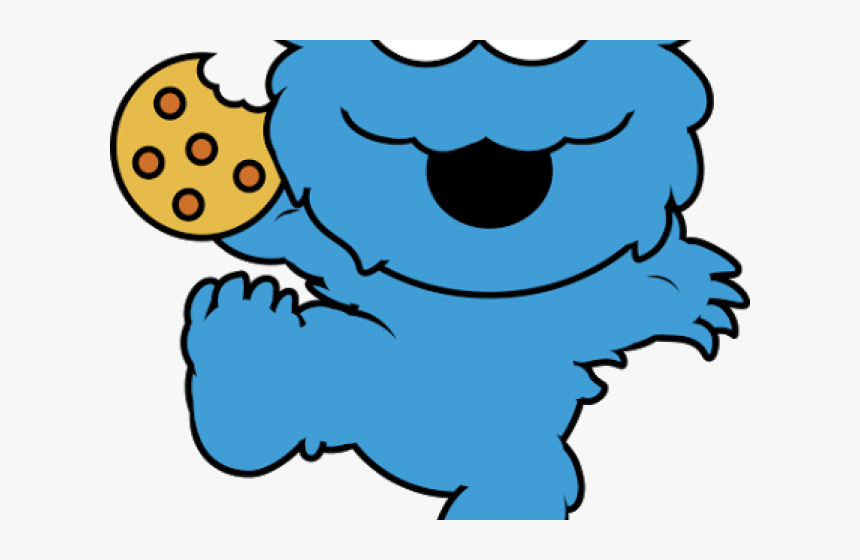 Face Clipart Cookie Monster.