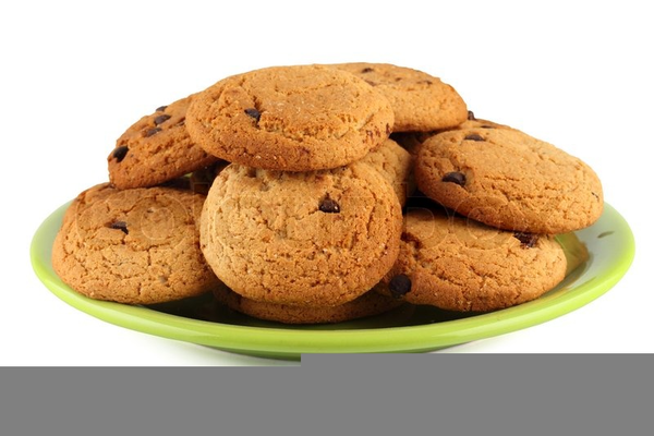 Cookies On A Plate Clipart.