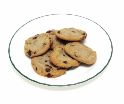 plate of cookies , Free clipart download.