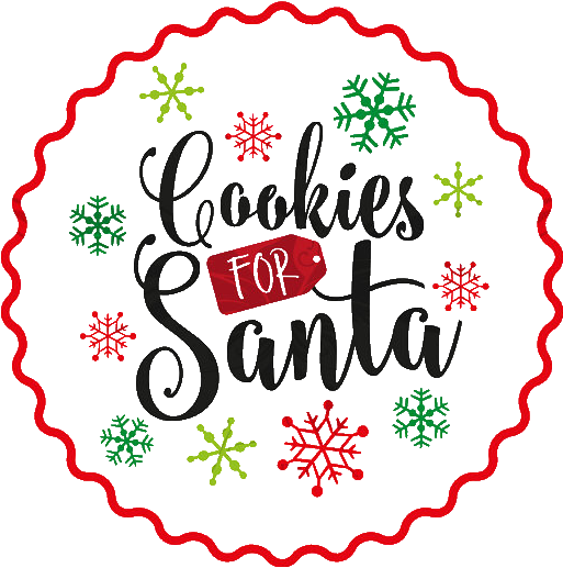 Cookies For Santa Or Dropbox.