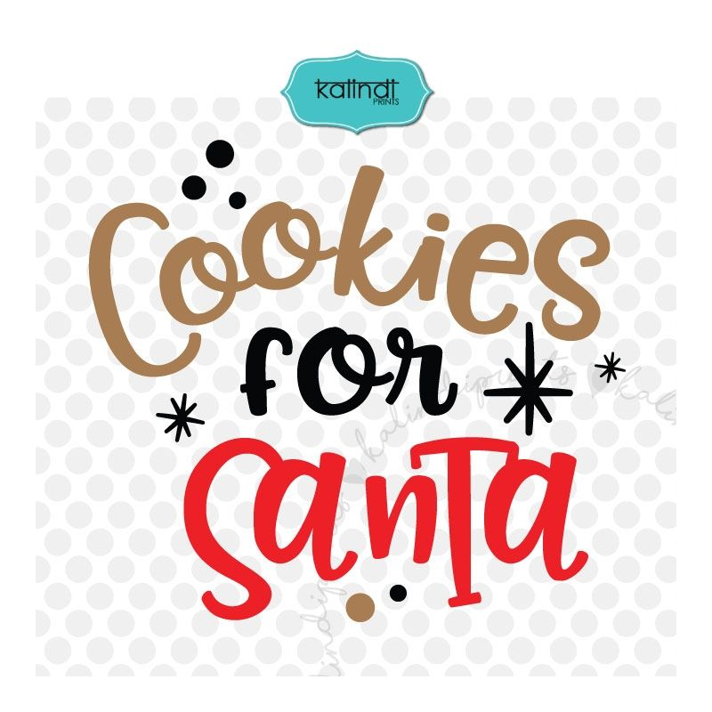 Cookies and milk for Santa SVG, milk for Santa, cookies for Santa.