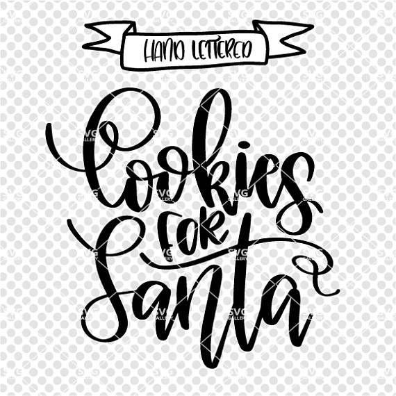 Cookies for Santa SVG, Christmas SVG, Digital cut file, winter svg.