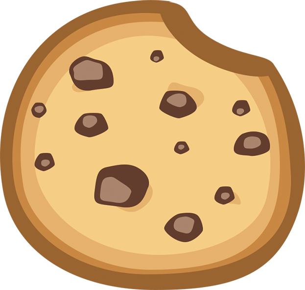 Chocolate chip cookie Graphic design Biscuits Logo.