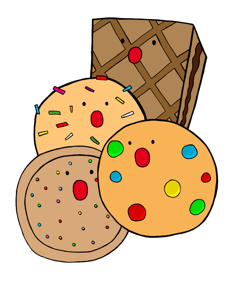Cookies Scream Logo by Rosecloud on Clipart library.