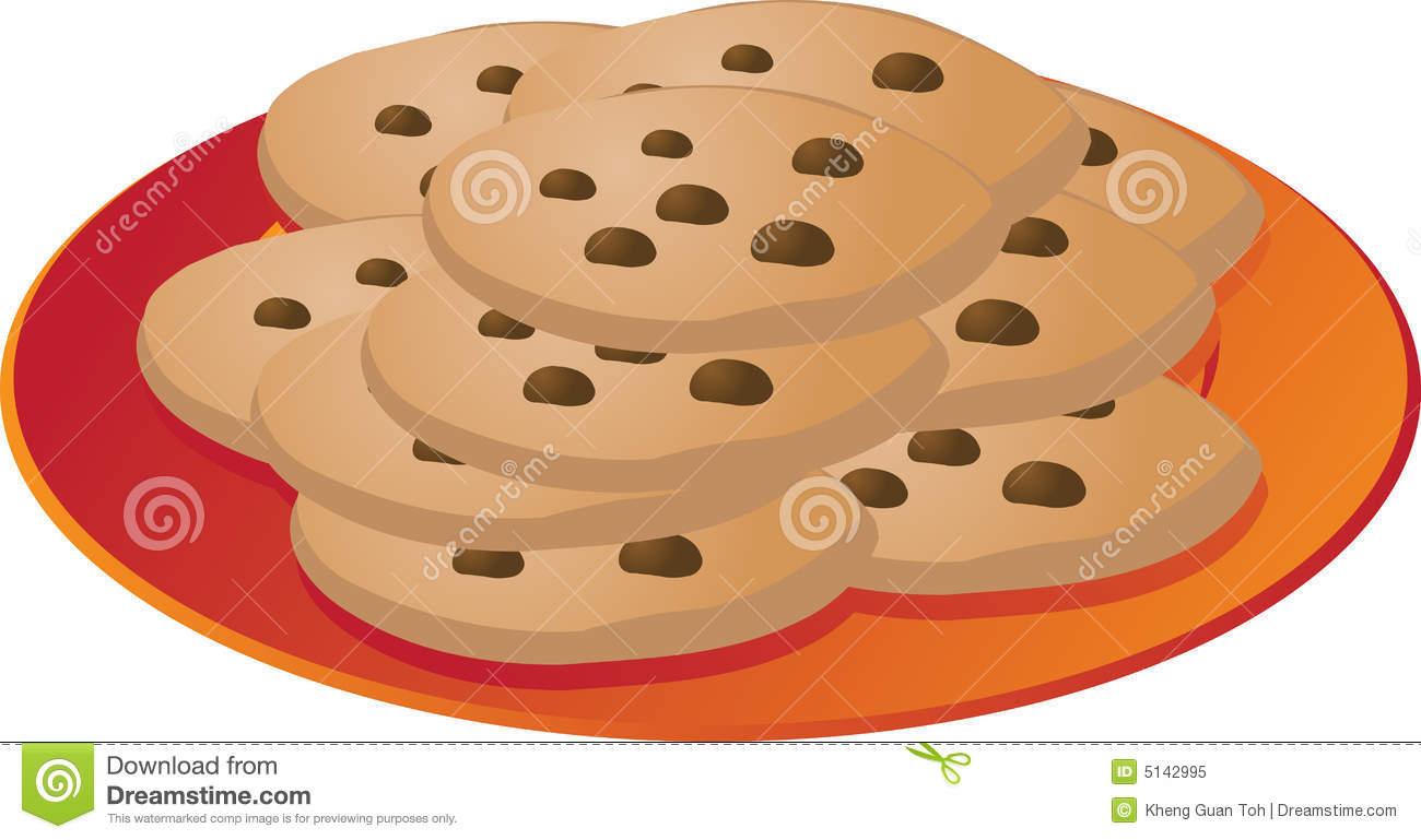 Plate of cookies clipart 1 » Clipart Station.
