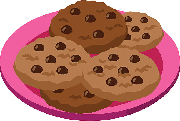 3563 Cookies free clipart.